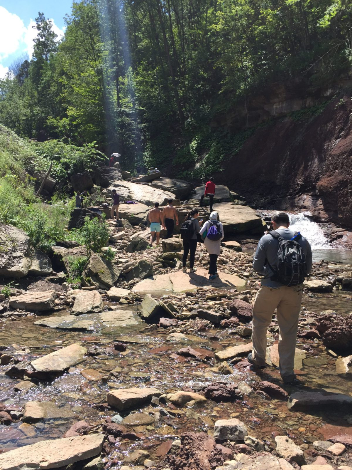 Family Hiking Trip & TabboulehRecipe